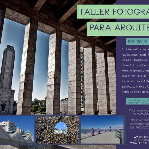 Taller fotográfico ( comodoro Rivadavia )