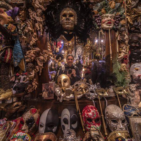 "Mi viaje a Italia "" Mascaras Venecianas """